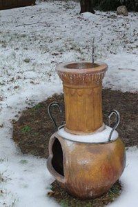 chiminea-in-snow