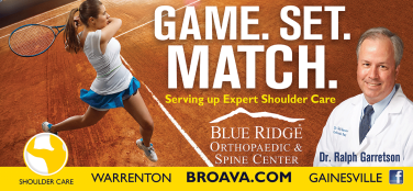 Blue Ridge Orthopaedic and spine center shoulder care
