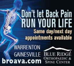 Blue Ridge Back pain ad