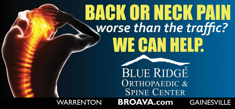 Blue Ridge Orthopaedic & Spine Center Back Pain