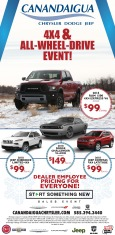 Canandaigua Chrysler Dodge Jeep New Car Ad