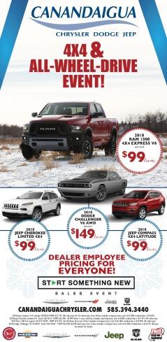 Canandaigua Chrysler Dodge Jeep New Car Ad