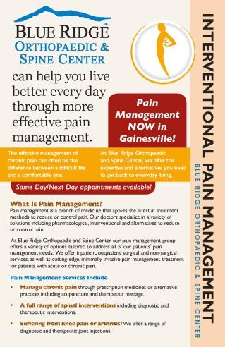 Blue Ridge Ortho Pain Management Sarah Crandall
