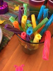 rainbow twizzler straws
